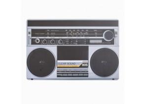 set-de-table-vintage-radio-tourne-disque-plusieurs-designs